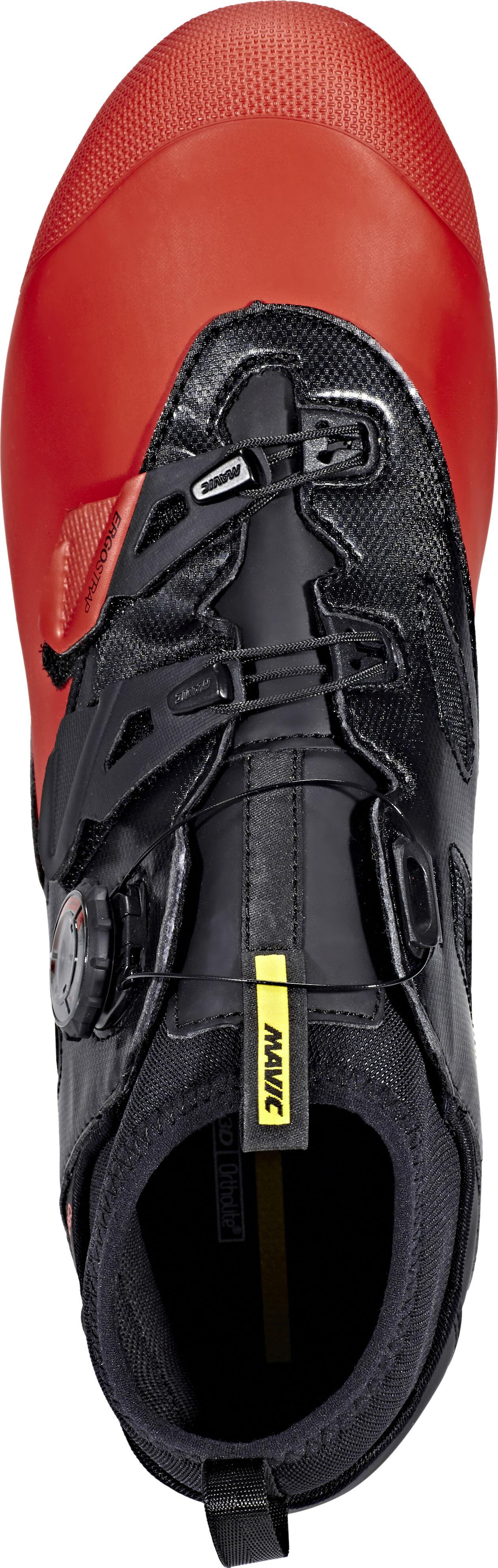 7ba4be8dced Mavic Crossmax Elite CM Shoes black/fiery red/black at Bikester.co.uk